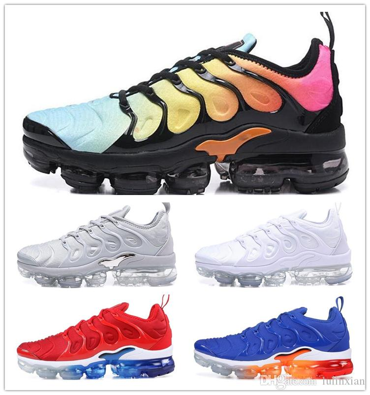 c9db07730 2019 TN Plus Running Shoes For Men Women Mauve String Colorways In Metallic  Designer Triple White Black Trainer Sport Sneakers With Box From Lulinxian