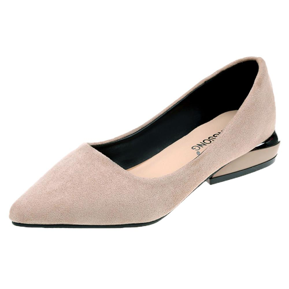 Designer Dress Shoes new tenis feminino Women Fashion Pointed Toe Ballet Shallow Slip On Casual zapatos mujer tacon scarpe donna #7
