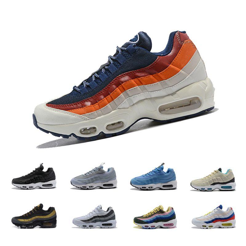 da22d3dc0 Nike Air Max 95 Nuevo 95 95s Hombres Zapatillas De Correr 20º ...