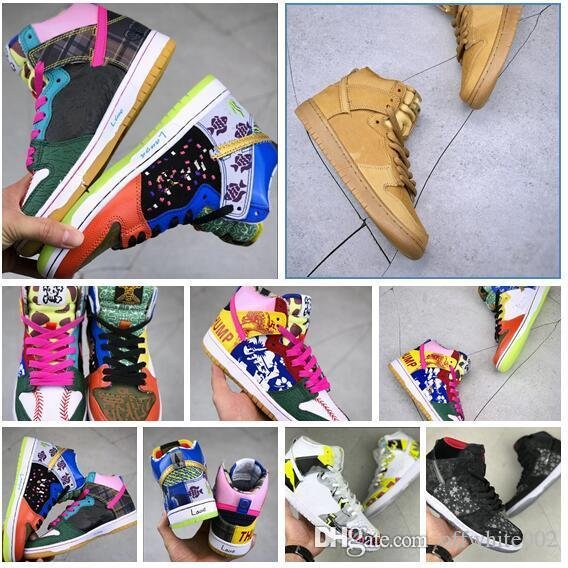 c98b85bb556a New Fashion Men Women Dunk High Premium SB Shoes Dunk Pro SB Casual  Skateboarding Shoes Trainers Sneakers Sneakers Sale Basketball Shoes For  Girls From ...