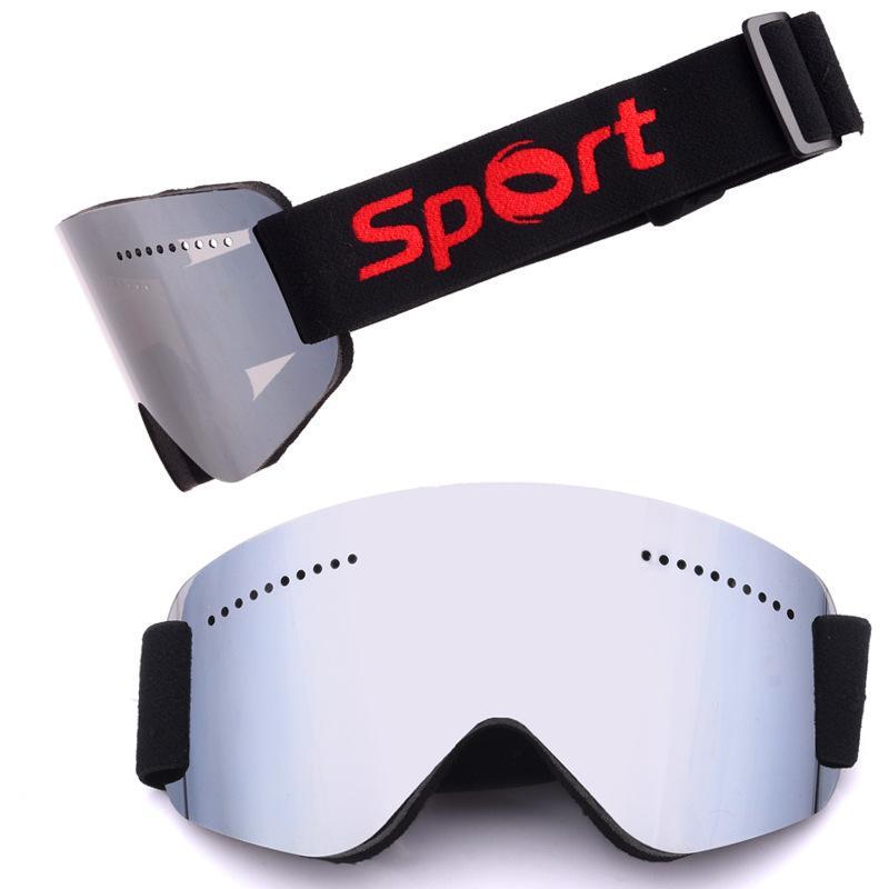 Compre Inverno Ao Ar Livre Óculos De Esqui Das Mulheres Dos Homens Óculos  De Snowboard Óculos De Proteção UV400 Óculos De Esqui De Neve Anti Nevoeiro  ... 7ef28e0619