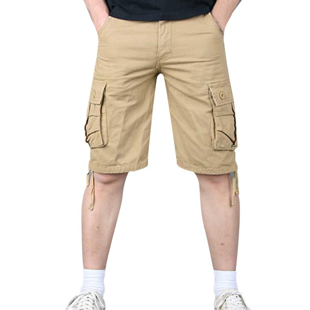7b2af80004 Cargo Shorts Men Hot Selling 2019 New Hot-Selling Man's Summer Casual  Fashion Shorts 5 Different Colors High Quality Size