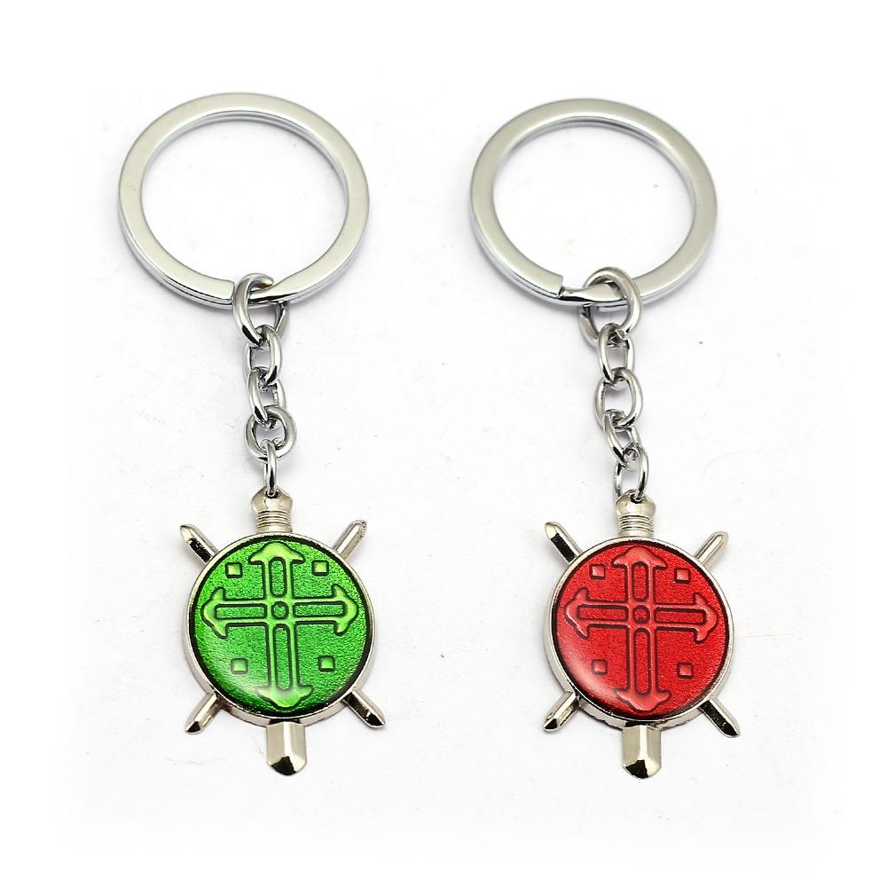 HUNTER X HUNTER Keychain GON FREECSS Cross Pendant Key Ring Holder ... b9bc764487