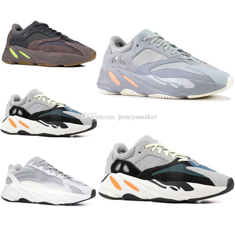0d290d8f413b8 2019 INERTIA 700 Kanye West Wave Runner Static 3M Reflective Mauve Solid  Grey Sports Running Shoes Men Women Sports Sneaker Shoes Size 36 46 Shoes On  Sale ...