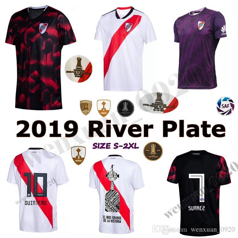 2019 CAMPEON LIBERTADORES 2019 River Plate Soccer Jersey Home Away 3rd 18  19 PRATTO OUINTERO SCOCCO Final Libertadores Football Shirts From  Wenxuan 0920 3e71e16b6