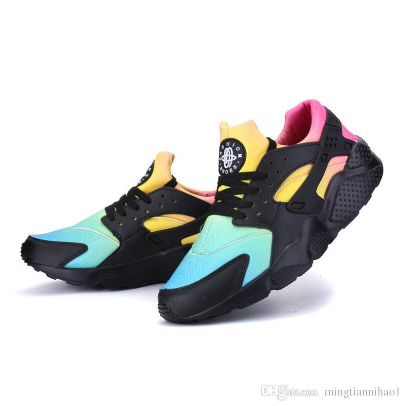 f19db62503a5a1 3 4 Huaraches Ultra Casual Shoes Huaraches Rainbow Ultra Comfortable ...