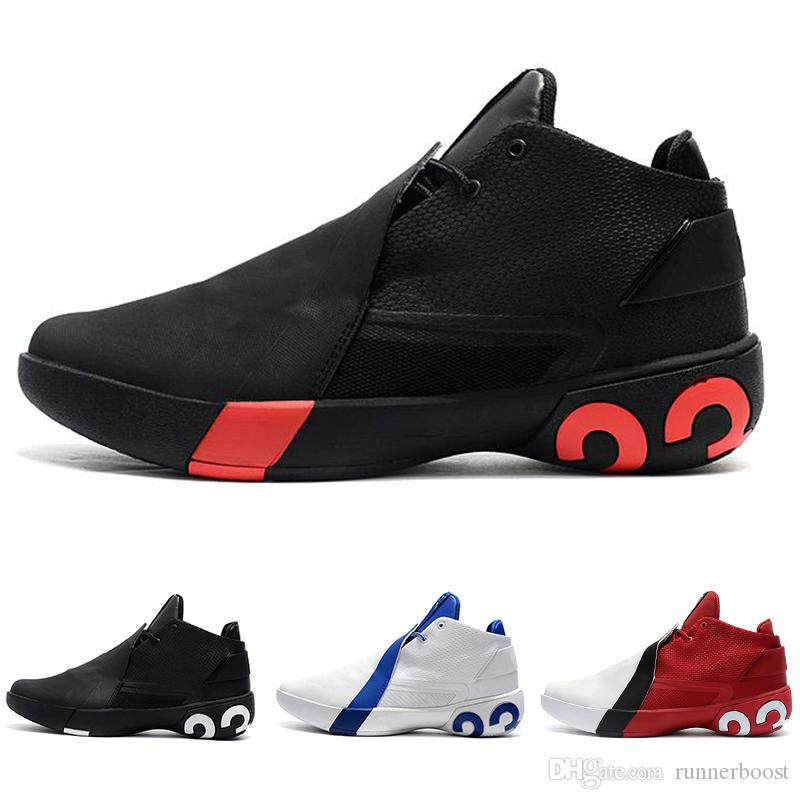 0691a814db53d8 2019 New Jimmy Butler III Mens Basketball Shoes OG Ultra Fly 3 Griffin  Butler Triple White Black Red Designer Sports Sneakers Size 40 46 Sport  Shoes Mens ...