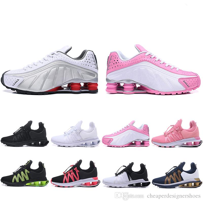 half off 8f2cf e941a New Style Shox Gravity 908 Running Shoes For Men Women VC Chaussures triple  s Sports Sneakers Mens Trainers Designers Shoe Size 36-46