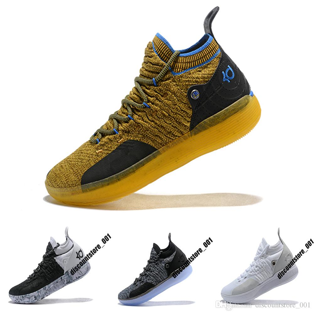 674489a61d4 2019 2019 New KD 11 EP White Orange Foam Pink Paranoid Oreo ICE Basketball  Shoes Original Kevin Durant XI KD11 Mens Trainers Sneakers US 40 46 From ...