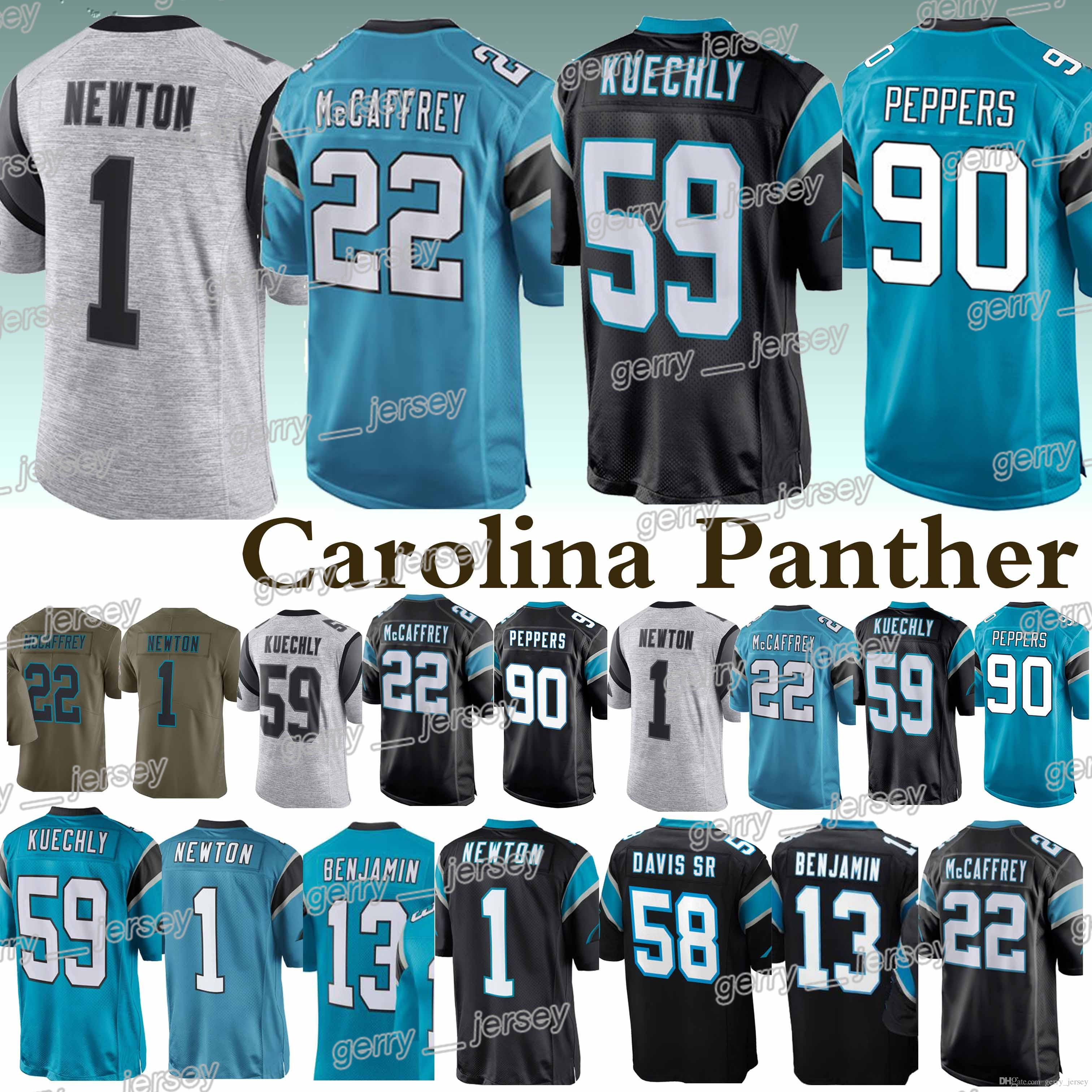 ... promo code for 2019 carolina panther jerseys 59 luke kuechly 22  christian mccaffrey 58 thomas davis 0161a1ae3