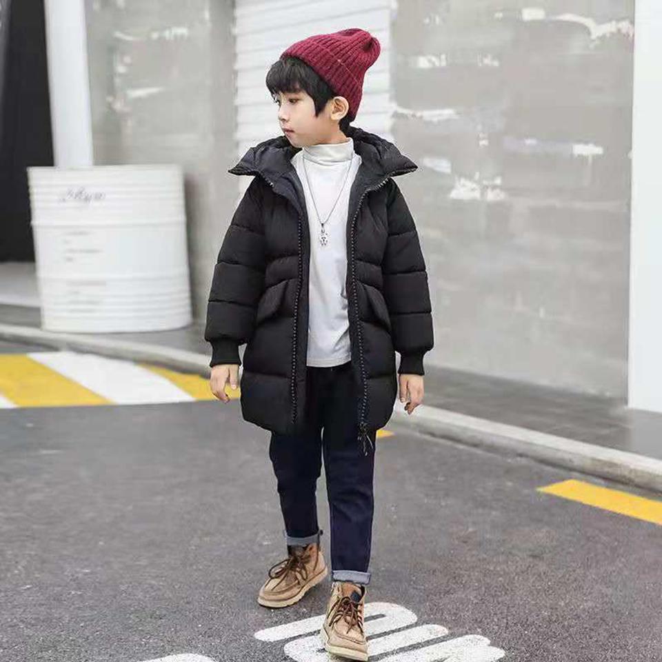 26483cd97d62 Baby Boys Thick Down Parkas Children Clothing Winter Coats Boys ...