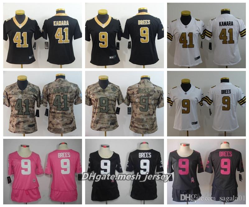 a40d82f1 ... shop 2019 women new orleans saints american football jersey 9 drew brees  41 alvin kamara80 jimmy