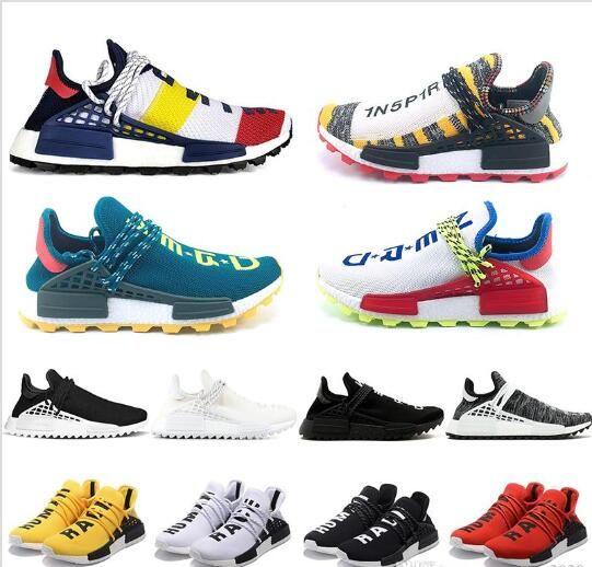 f029b06b7 2019 Cheap NMD Human Race Running Shoes Men Women Pharrell Williams ...