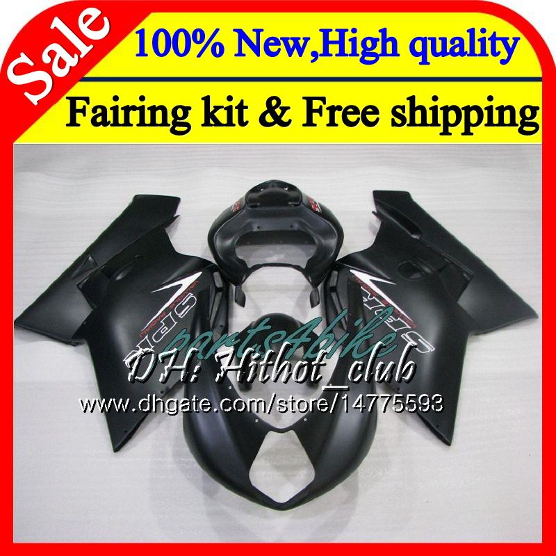 Body For MV Agusta F4 05 06 Matte black R312 750S 1000 R 750 1000CC 06 13HT3 1000R 312 1078 1+1 MA MV F4 2005 2006 05 06 Fairing Bodywork