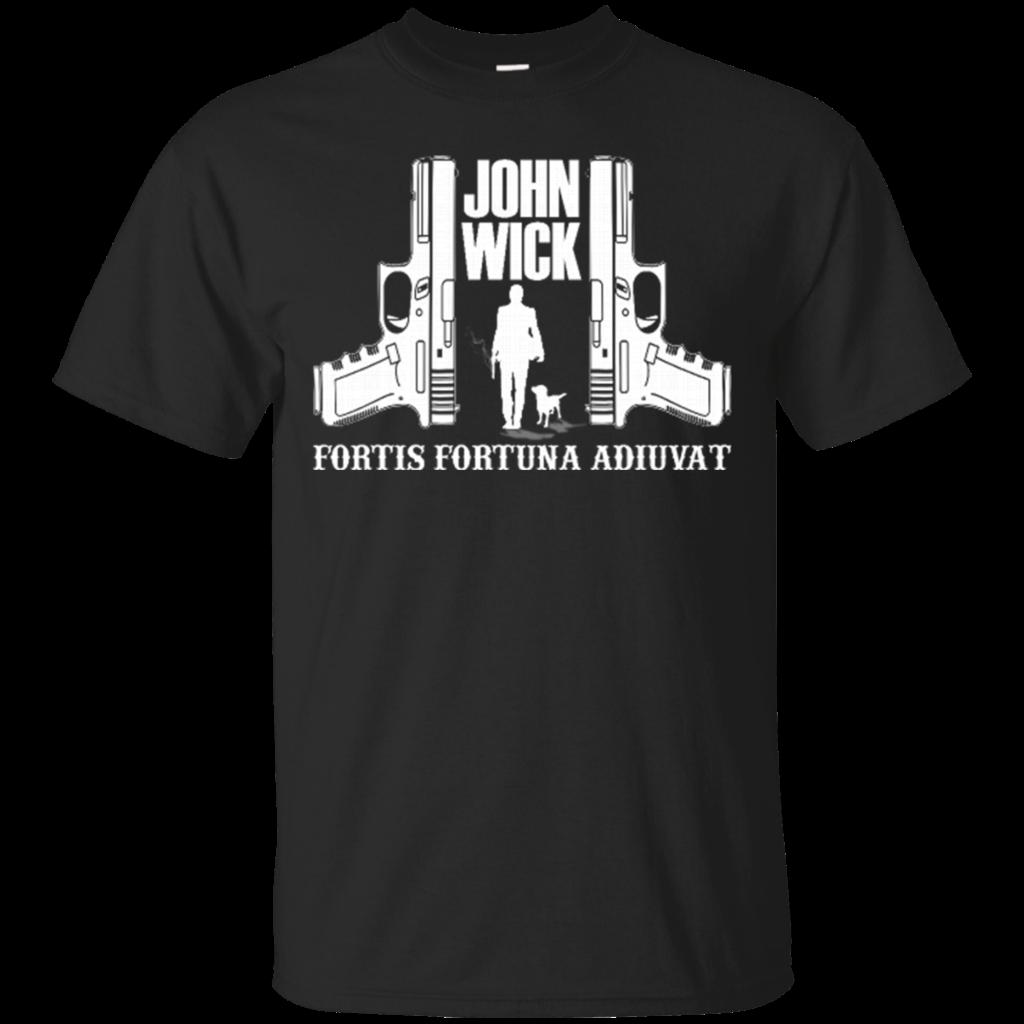 b37df1c67 Compre John Wick Fortis Fortuna Adiuvat Camiseta Negra S 3XL Camiseta  Xxxtentacion Fresca Camisetas De Marca Pantalones Vaqueros Imprimir Calidad  Clásica ...
