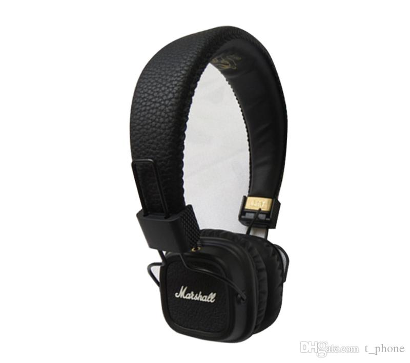 c3e8e64186d Classic Marshall Major II Bluetooth Headphones And Wireless 2nd Major  Headsets Earphones For Marshall With Retail Packaging DHL Shipping Wireless  Headset ...