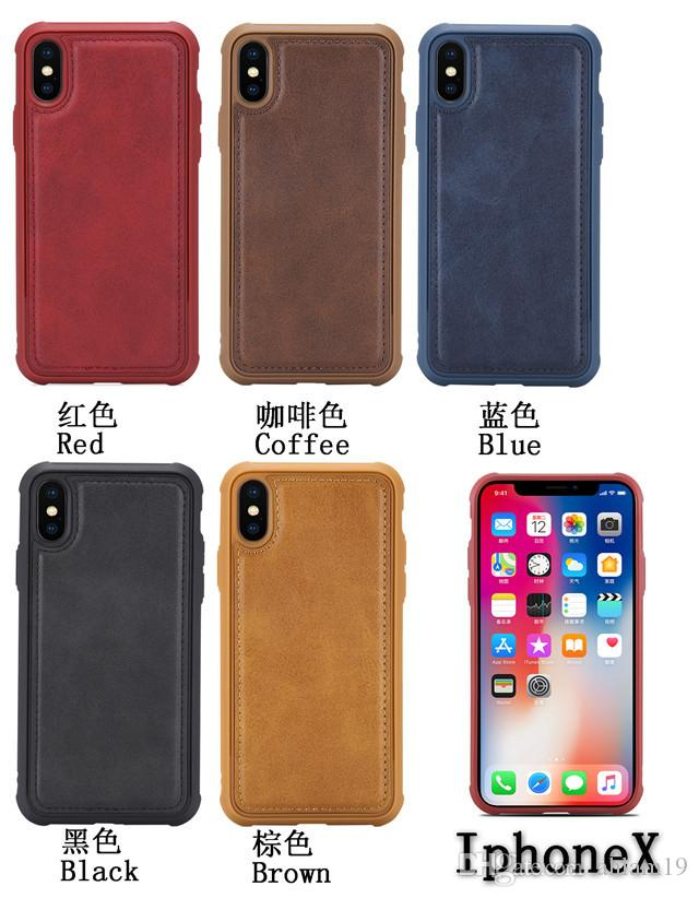 best sneakers 49dbb 6325a High Quality anti radiation cellphone Magnetic Car Kickstand Soft Cover  Anti Shock Mobile Phone Case for iphone X XR