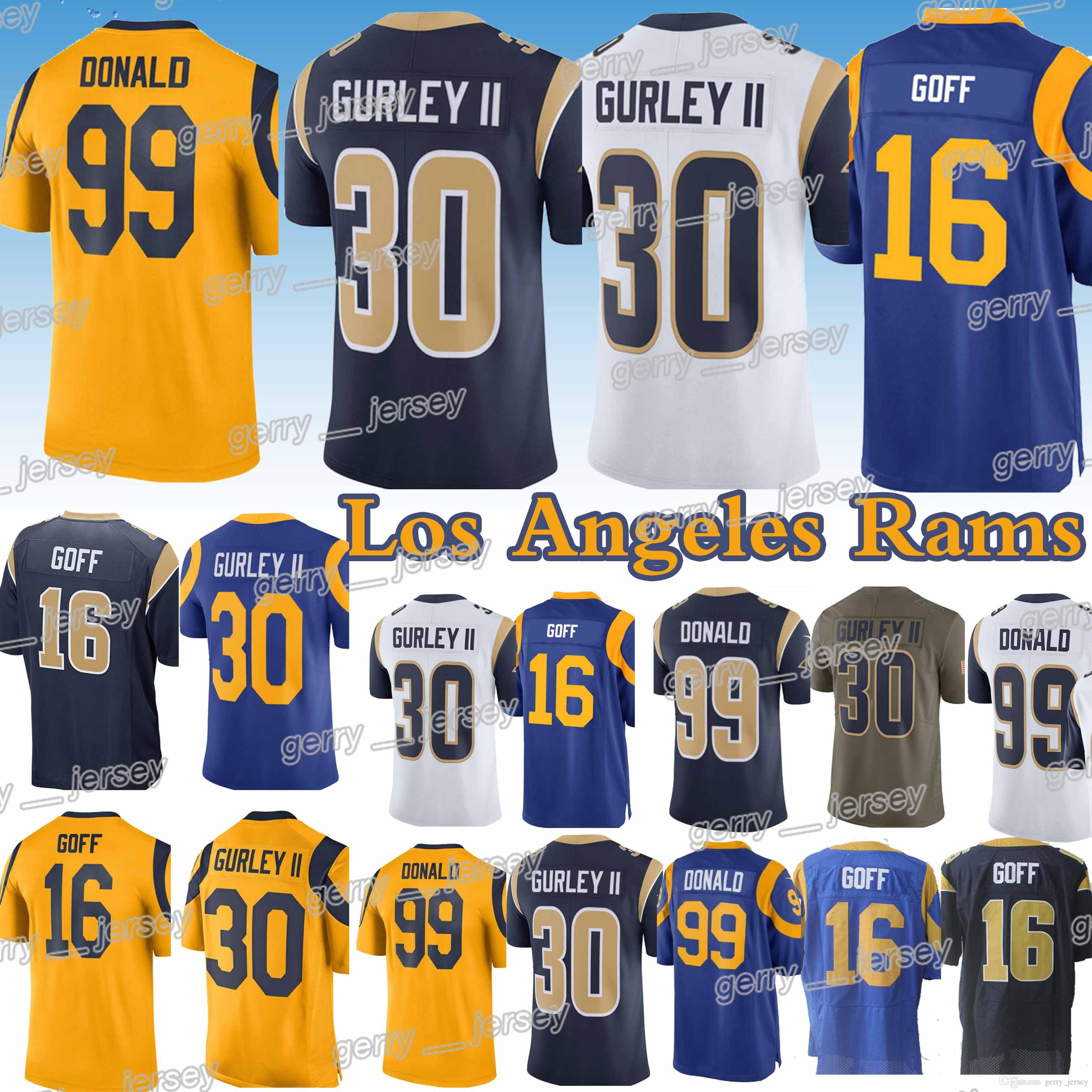 best price jared goff 16 los angeles rams jersey c7bb4 eb882 ce2346a55