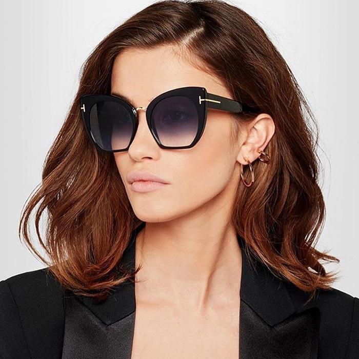 eb71e6a24b3d New 2019 Fashion Brand Cat Eye Tom Sunglasses Women Designer Vintage Square  Frame Sun Glasses Female Eyewear Shades Oculos Uv400 Victoria Beckham  Sunglasses ...