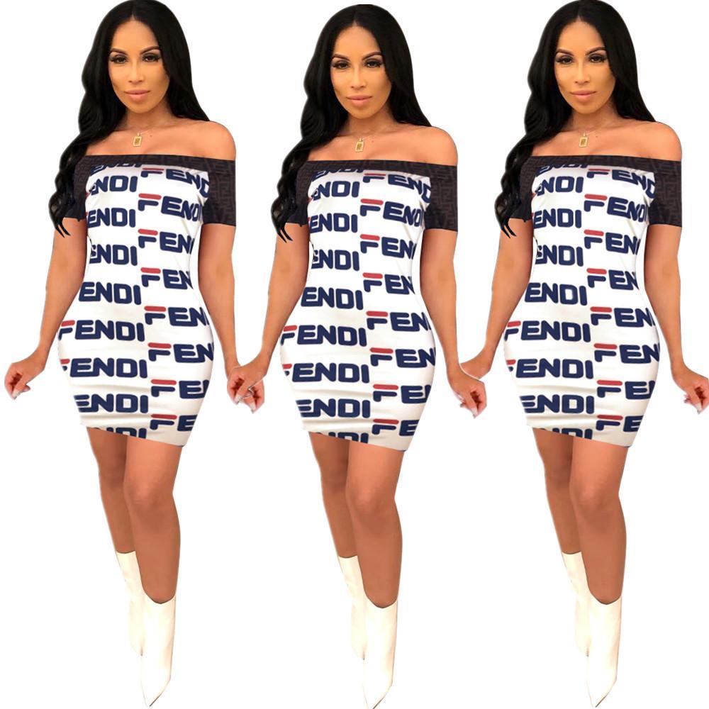 d767fa01b Compre YT3106 2019 Es La Nueva Vestimenta Femenina De Alta Calidad Del  Vestido Casual Impreso De Alto Grado De Las Mujeres Europeas Y Americanas A   15.39 ...