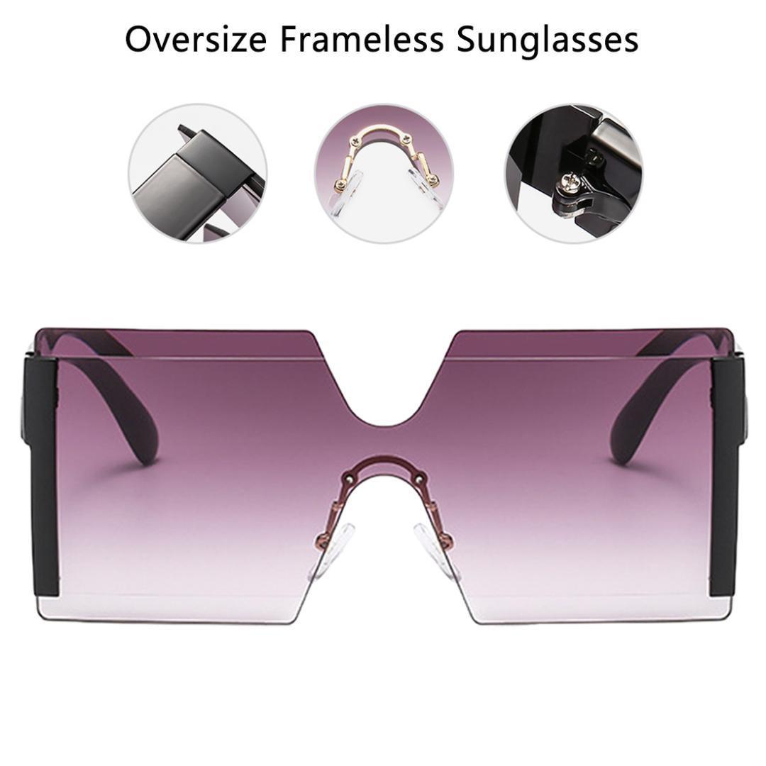 edaaa8b0b3 Acheter Gafas De Sol Mujer Oversize Lunettes De Soleil Carrées ...