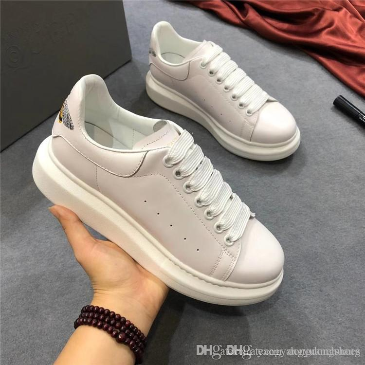 08390411350 2018 New Designer Comfort Pretty Girl Women's Sneakers Casual Leather Shoes  Men Womens Sneakers Extremely Durable Stability