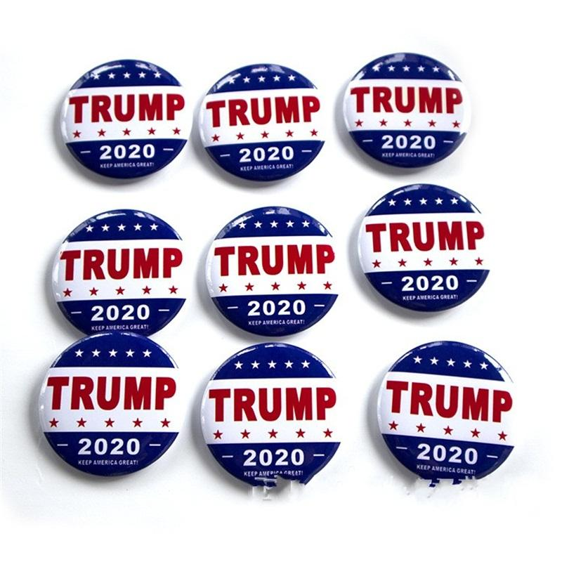 2020 America President Election Badges United States Donald Trump Brooch Pins Metal Armband For Coat Decoration 1 5qf E1