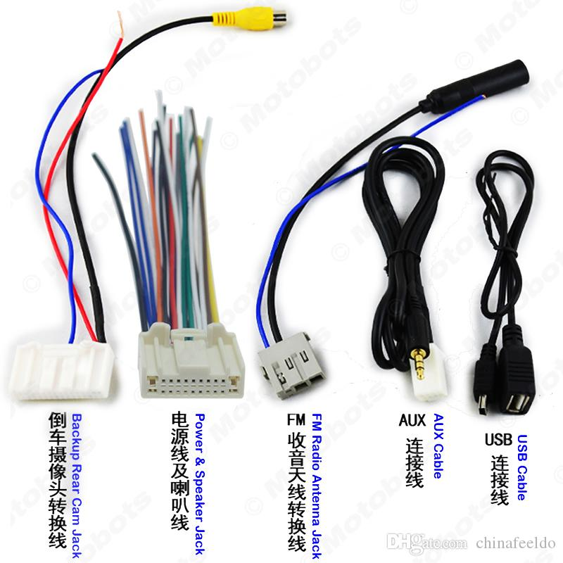 2020 Wholesale   Pack Suit Car Audio Stereo Wiring Harness