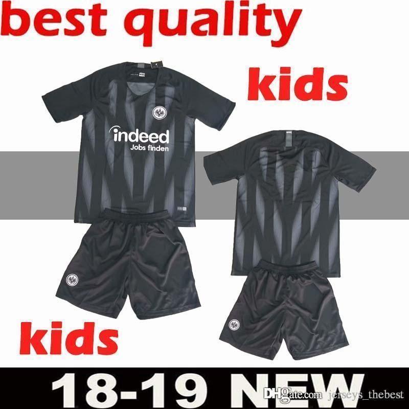 Großhandel Kinder 1819 Eintracht Frankfurt Kinder Trikot 2018 2019