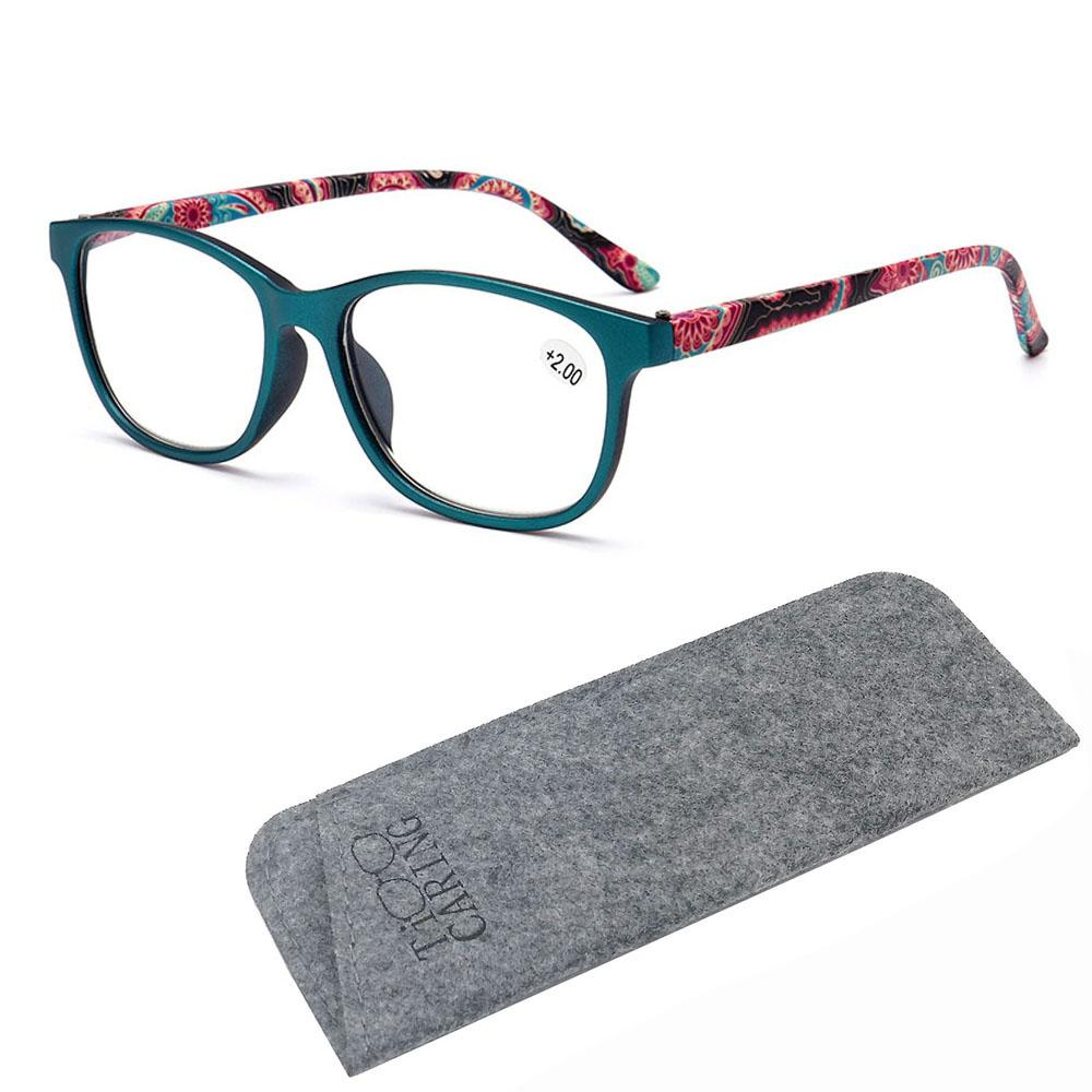 Reading Glasses Stylish Fashion colorful women Presbyopic Readers magnifying glass lady +1.00 to 3.50