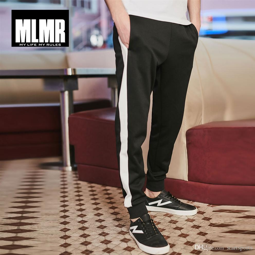 hot sale online e90ad aab34 MLMR JackJones Herren Sommer Winter Schwarz Schatten Loose Fit Lässige  Hosen Mode Hosen Männliche Marke Kleidung Menswear   218114527 # 387316