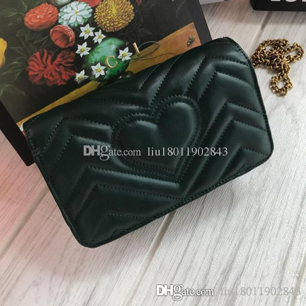 High Quality Leather Lady s 18cm 488426 Marmont Shoulder Bag Silk ... 298b014c26987