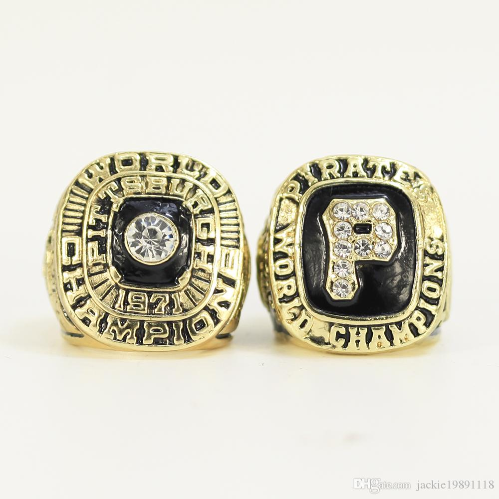 wholesale 1971 1979 PITTSBURGH PIRATE Championship RING 2 Rings set FREE SHIPPING US SIZE 8-14#