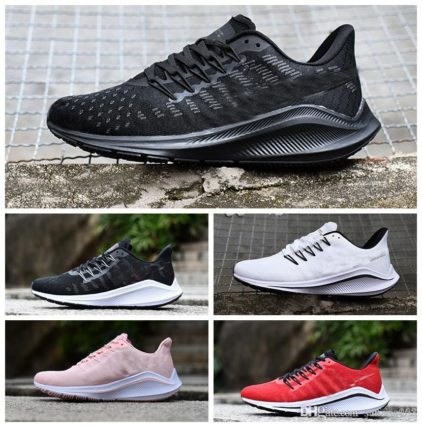 7ccc71475 Compre 2019 Air Zoom Vomero 14 V14 Zapatos Casuales Moda Masculina  Diseñador De Lujo Mujeres Zapatos Para Niños Zapatillas De Deporte Entrenadores  Atlético ...