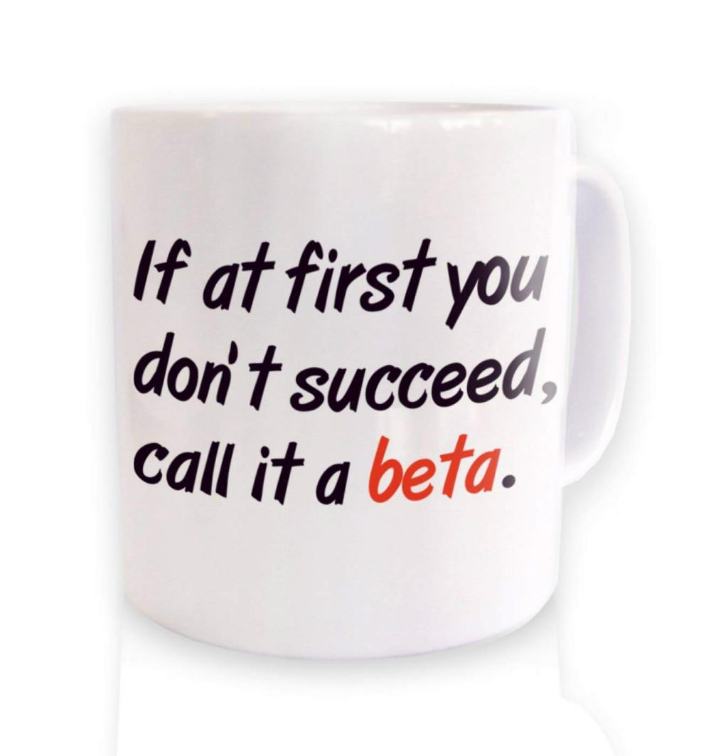 Call It A Beta Mug Programming Coding Cup