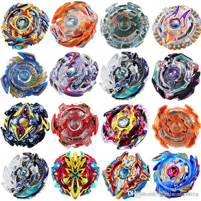 Beyblades 10PCS Burst Toys sin lanzadores Arena Beyblades Toupie Bayblade Metal Fusion Avec Lanceur God Spinning Top Spinner Bey Blades