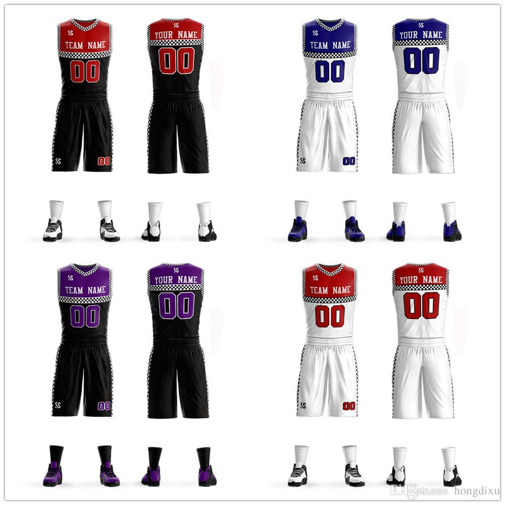 f63d2dc69 High Quality Basketball Jerseys Boys Breathable Custom Basketball ...