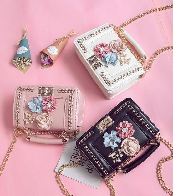 e726abf4e COOL WALKER Mini Chain Bag Handbags Women Famous Brand Luxury ...