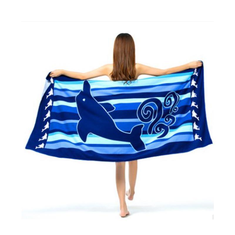 Strand Badetuch Decke Printed ideal für Picknick Dusche Reise Strand Camping 180x100cm