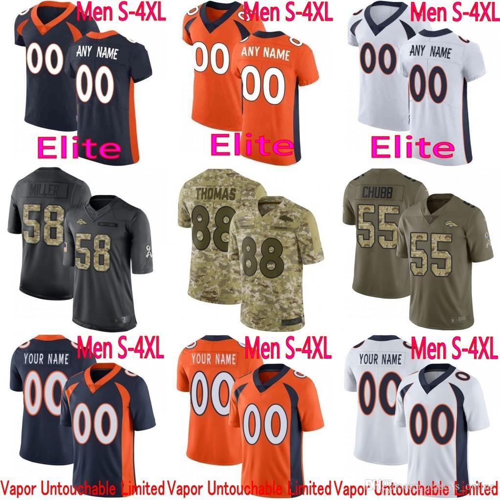 77813b606 2019 Denver Phillip Lindsay Von Miller Bradley Chubb Case Keenum John Elway  Royce Freeman Vapor Untouchable Elite Limited Broncos Jersey From  Jerseys online ...