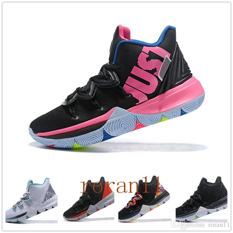 c092a910068e 2019 New Kyrie 5 Sports Shoes Taco PE Ikhet Husky Black Magic For Top  Quality Kyrie Mens Trainers Sneakers 7 12 Comfort Shoes Sneakers Online  From Roran11