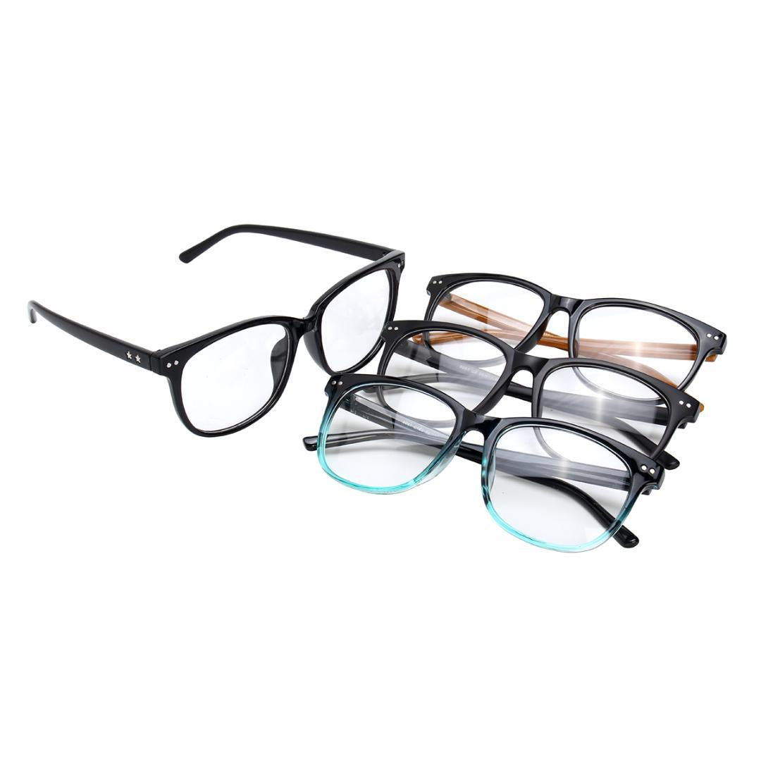 121b23e8f0b 2019 Fashion Spectacles Eyeglasses Full Rim Frames Men Women Optical  Eyewear Glasses Optical Eyeglasses Frame Lightweight From Junemay