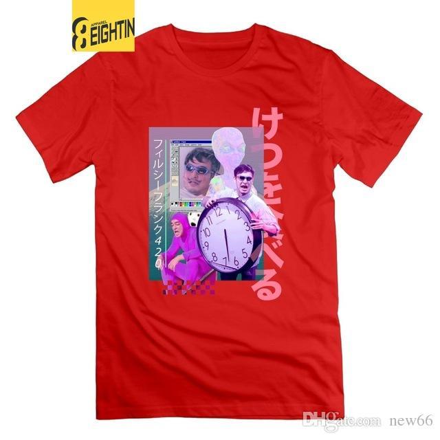 86c17c43e Mens Luxury Brand Designer T Shirts Eightin Vaporwave Filthy Frank ...