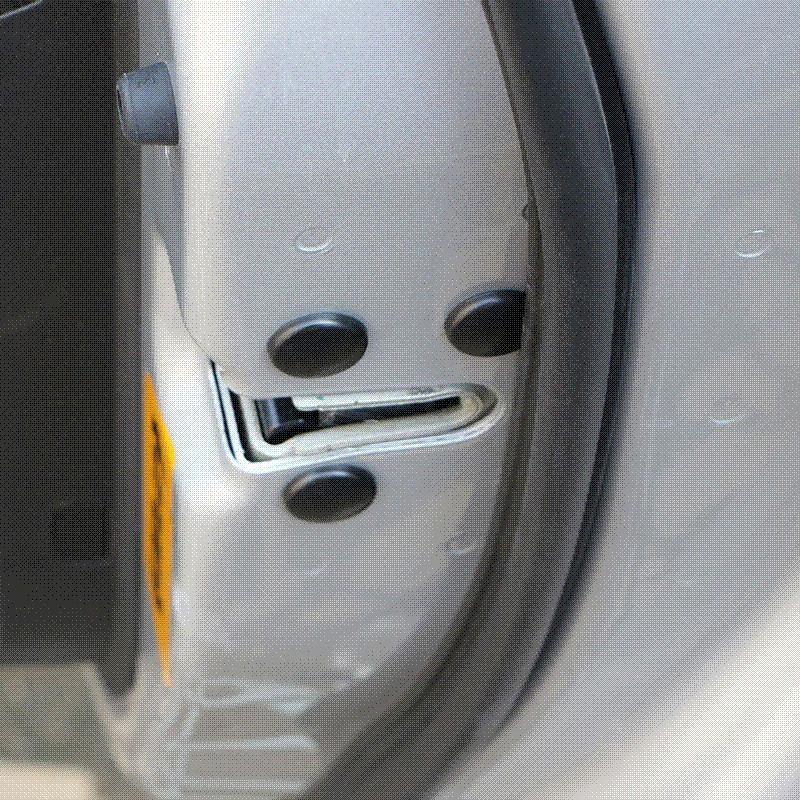замок двери автомобиля винт защиты наклейки крышки водонепроницаемые двери винты для Ford Focus 2 3 4 Fiesta Ecosport Everest Ranger Kuga
