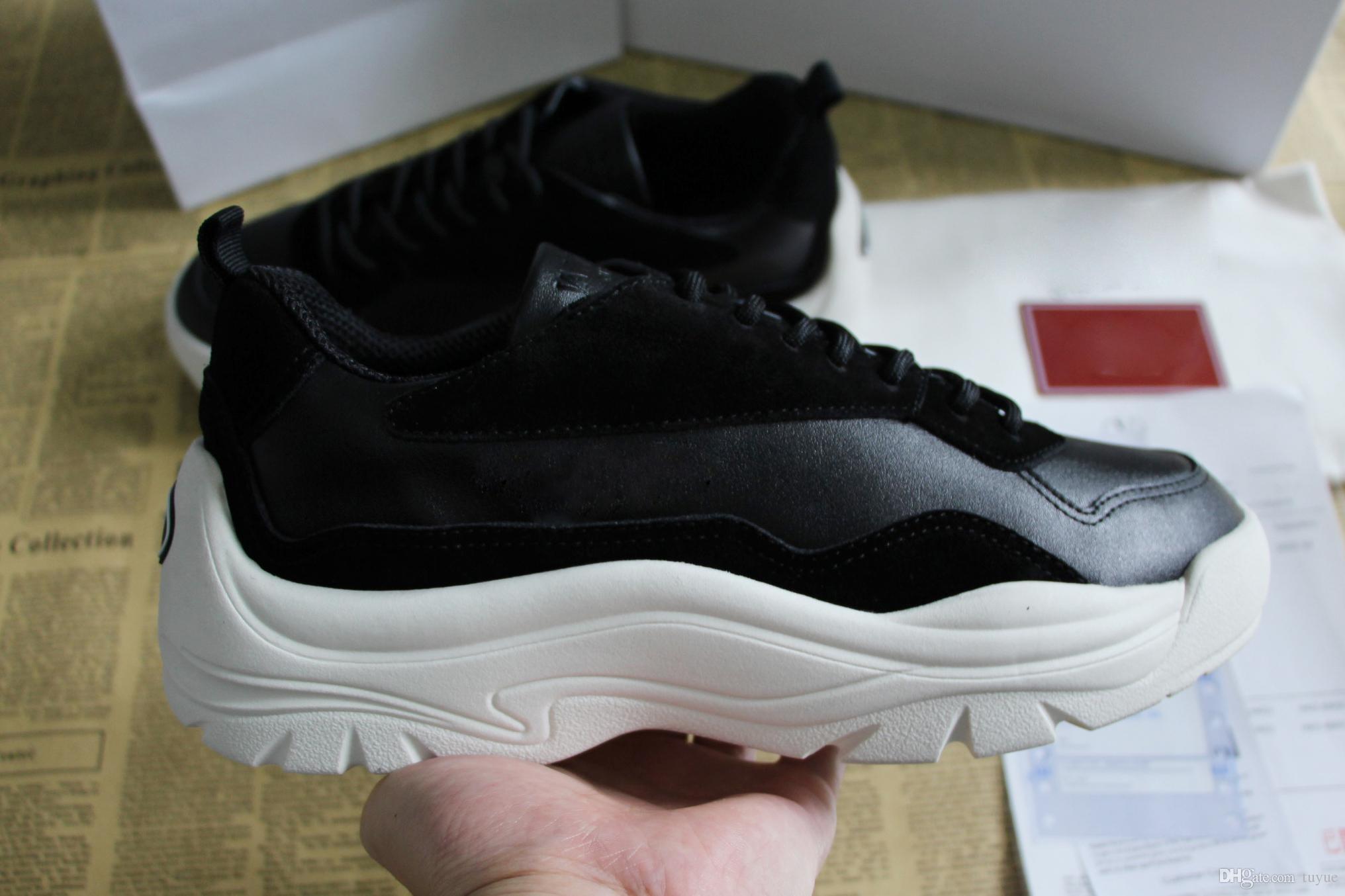 19933a5d Compre Nueva Moda Para Hombre Para Mujer Zapatos De Diseño De Zapatillas De  Cuero Marca Luxuxy Suela De Goma Ligera Zapatillas De Deporte Para Hombres  ...
