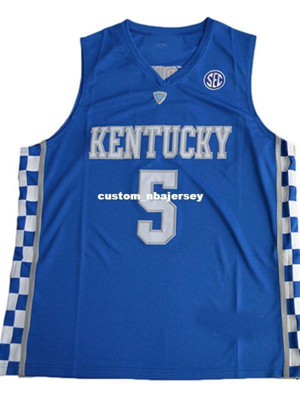 ab14aaf6d8f 2019 Cheap Wholesale Malik Monk Jersey Kentucky Wildcats Blue White Sewn Jersey  Customize Any Name Number MEN WOMEN YOUTH Basketball Jersey From ...