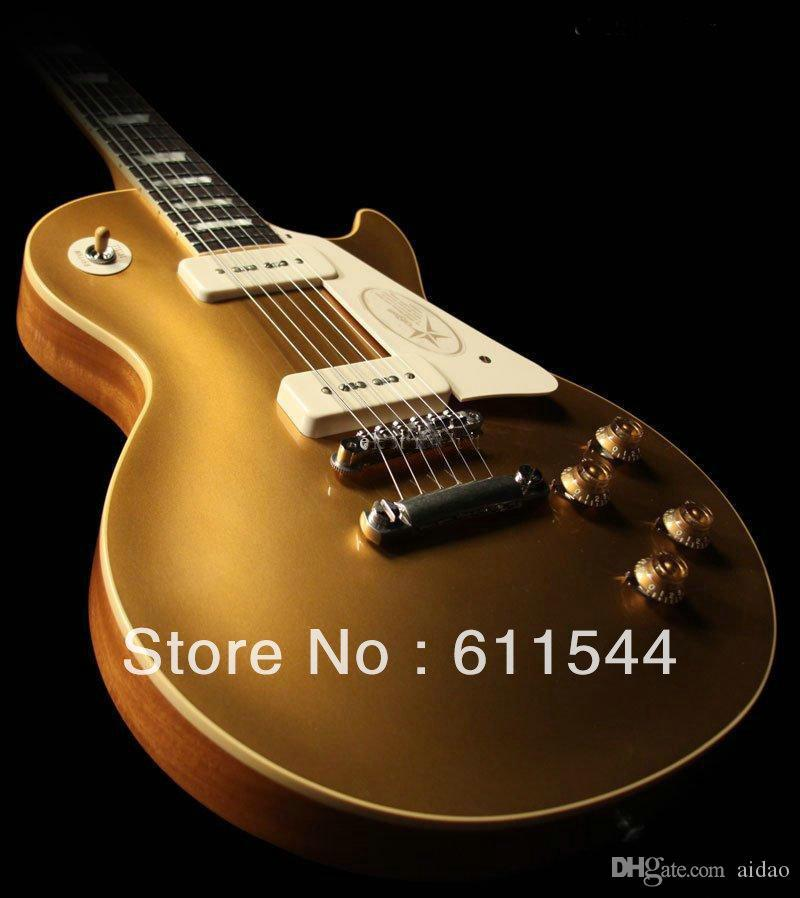 New Arrival Goldtop 57 High Quality Electric Guitar Top Musical instruments Free Shipping2018