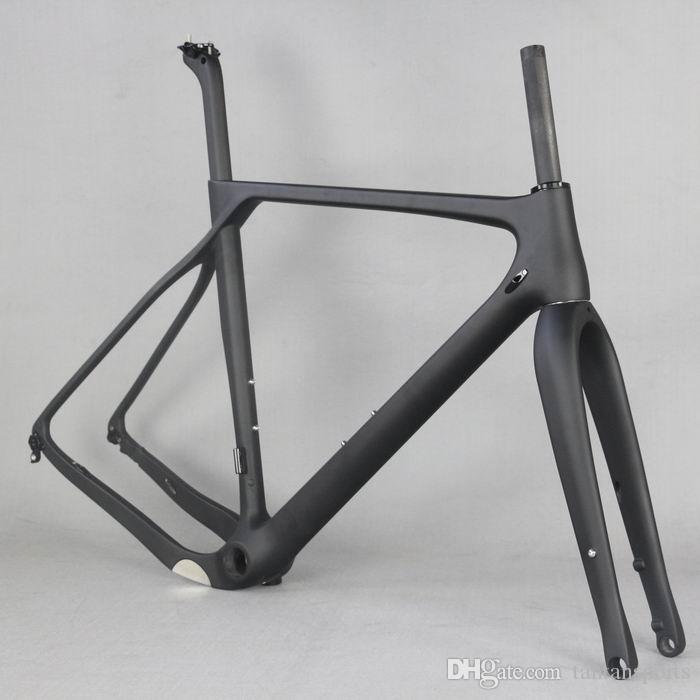 Carbon Bike Frame >> 2019 Full Carbon Fiber Gravel Bike Frame Gr030 Factory Deirect Sale Customized Paint Oem Men Frame