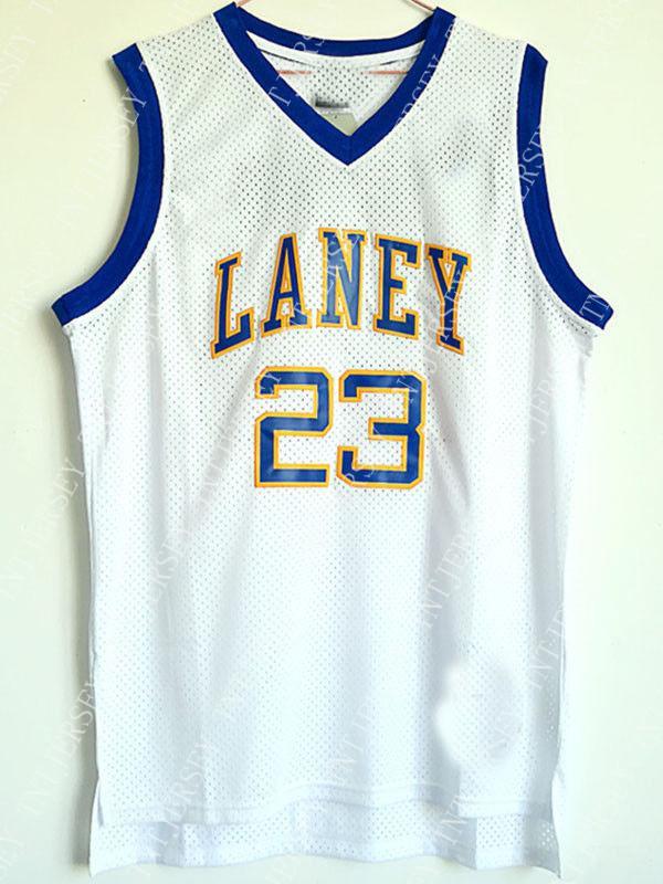 the latest 949ed 3777d Venta al por mayor barata MichaeL # 23 Jersey de baloncesto cosido Laney  High School Personalizar cualquier número de nombre HOMBRE MUJER JÓVENES ...