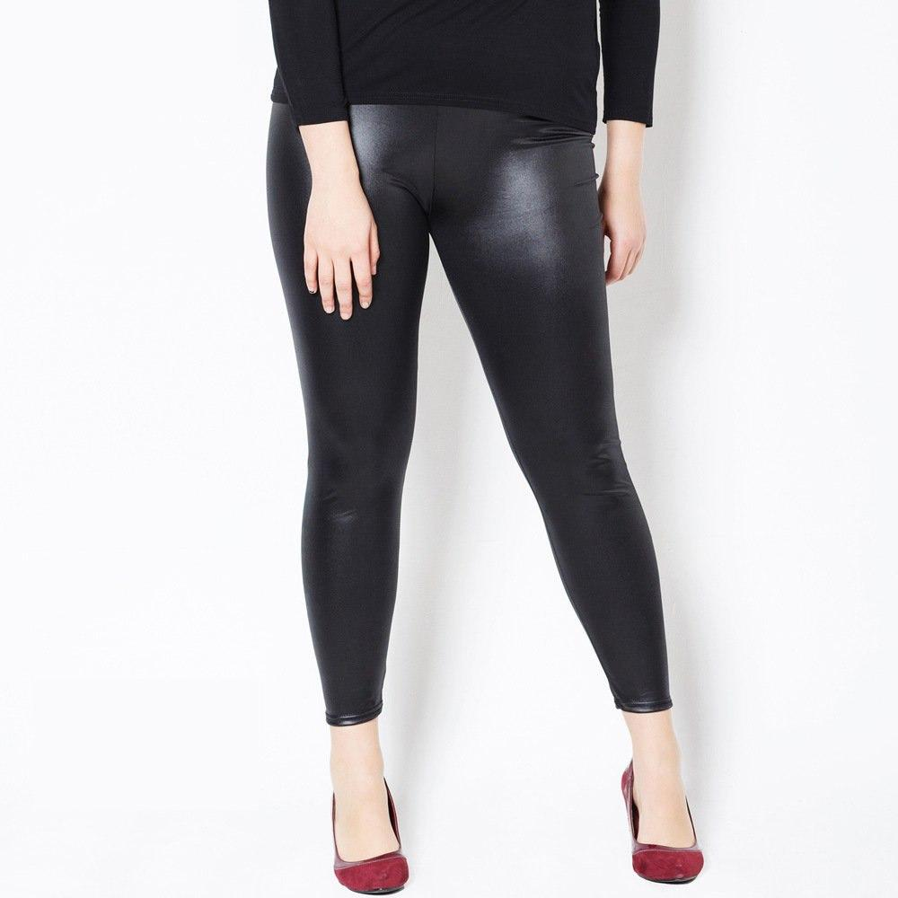 59b1e925819 Leggings Women Fake Leather Plus Size 5xL Big Sizes Women High Waist ...